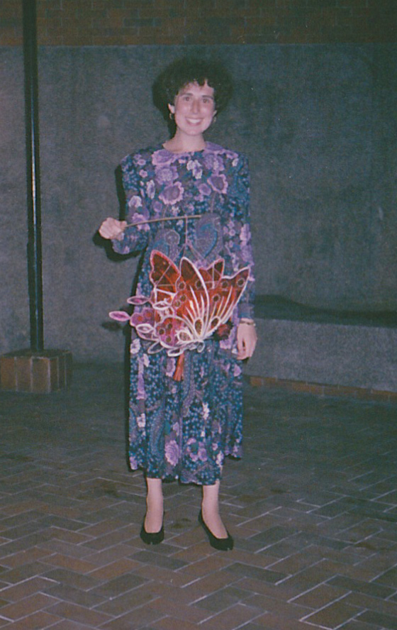 My first Mid-Autumn Festival, 1990