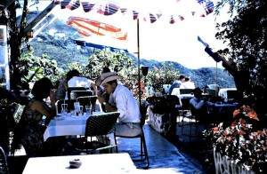 1962 eating on the peak