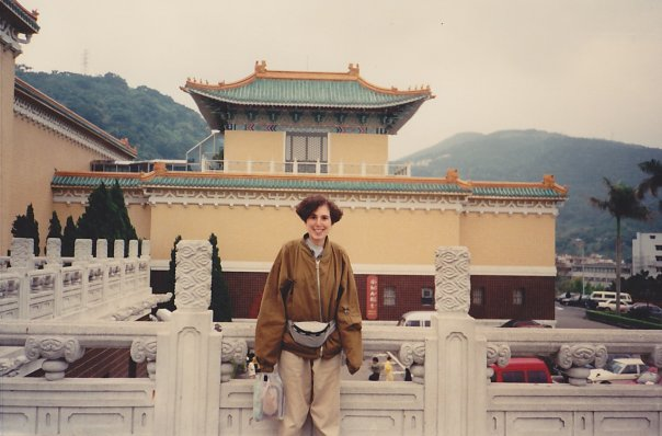 In front of the National Palace Museum