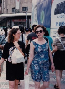 Mom and me in Shanghai