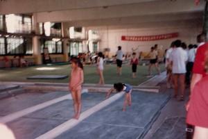 Beijing gymnists