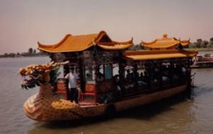Boat at Summer Palace