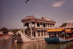 Stone boat at Summer Palace