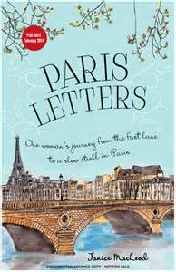 Book of the week–Paris Letters