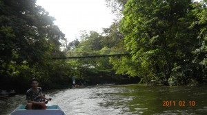Up the Melanau River to Wind Cave