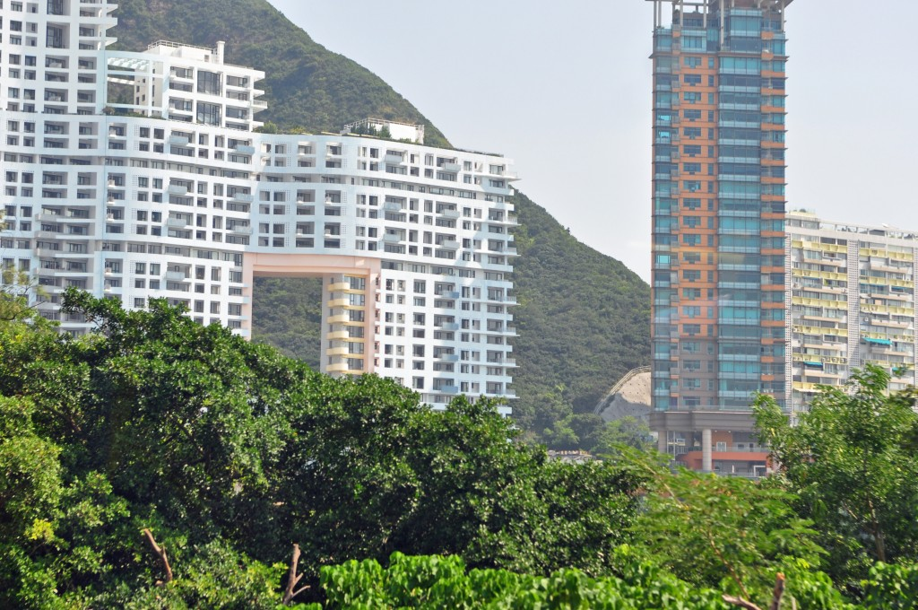 repulse bay building with hole