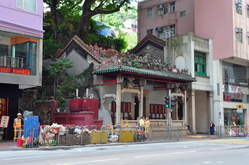 temple in wan chai