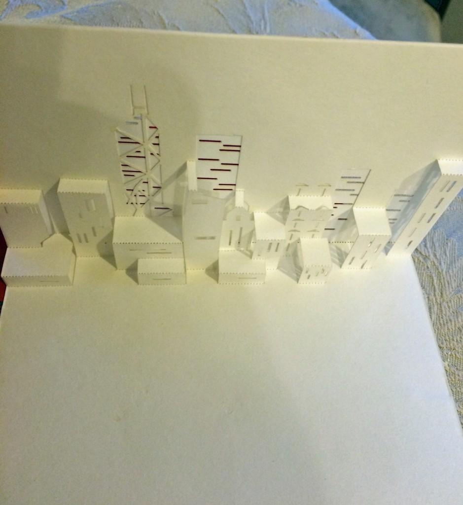 Skyline porigami