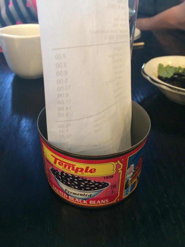 Fat Rice bill
