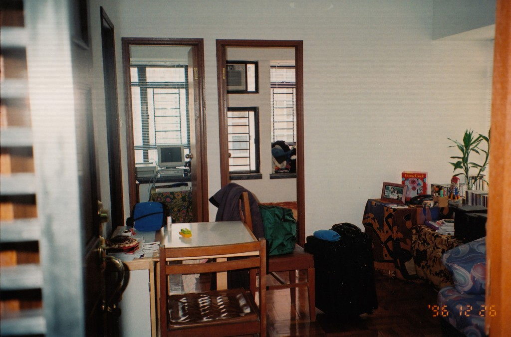Inside apartment