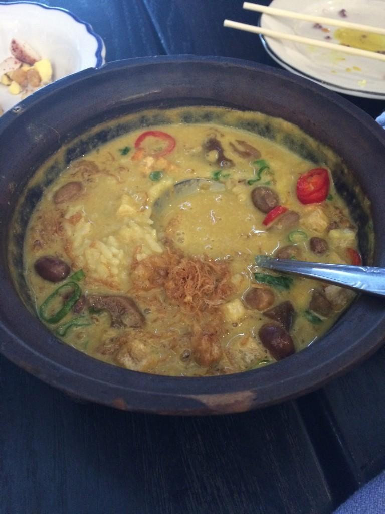 Vegetable congee