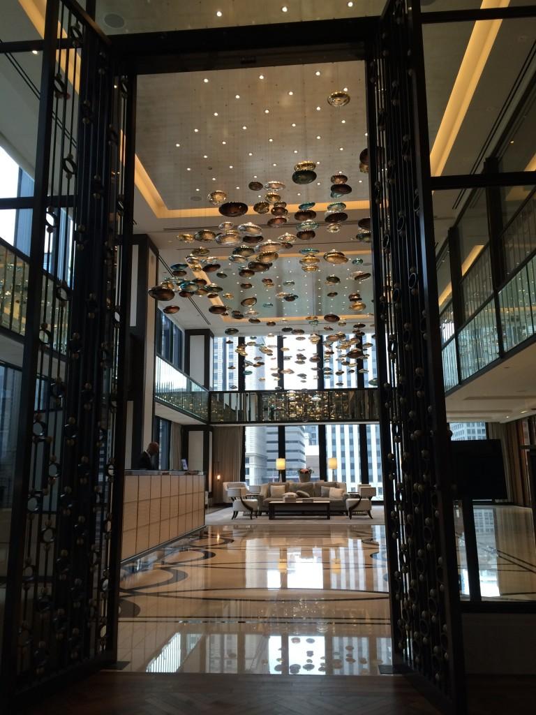 Langham lobby