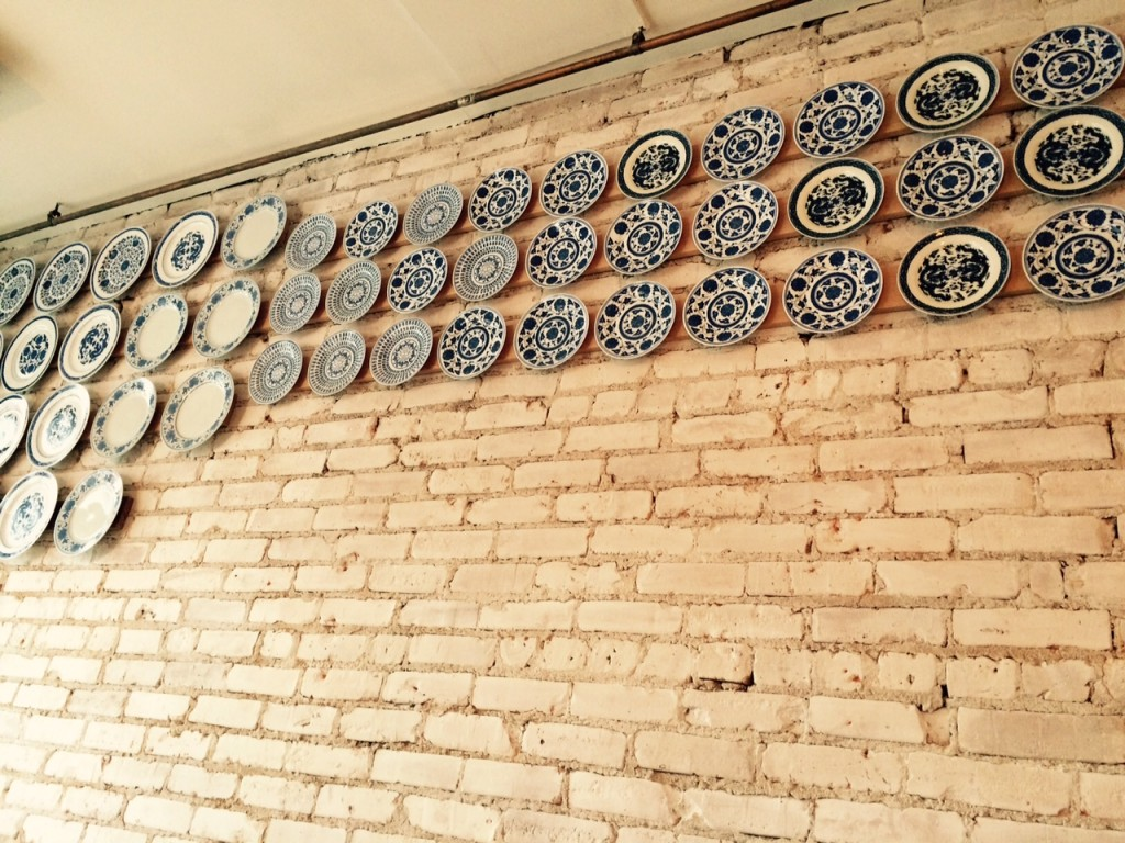 2 Duck Goose plates on wall