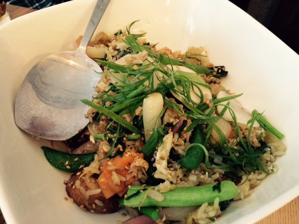 2 Duck Goose vegetable fried rice