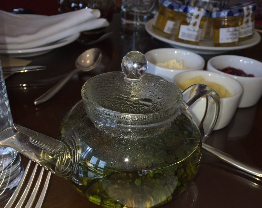 Mint tea Mandarin