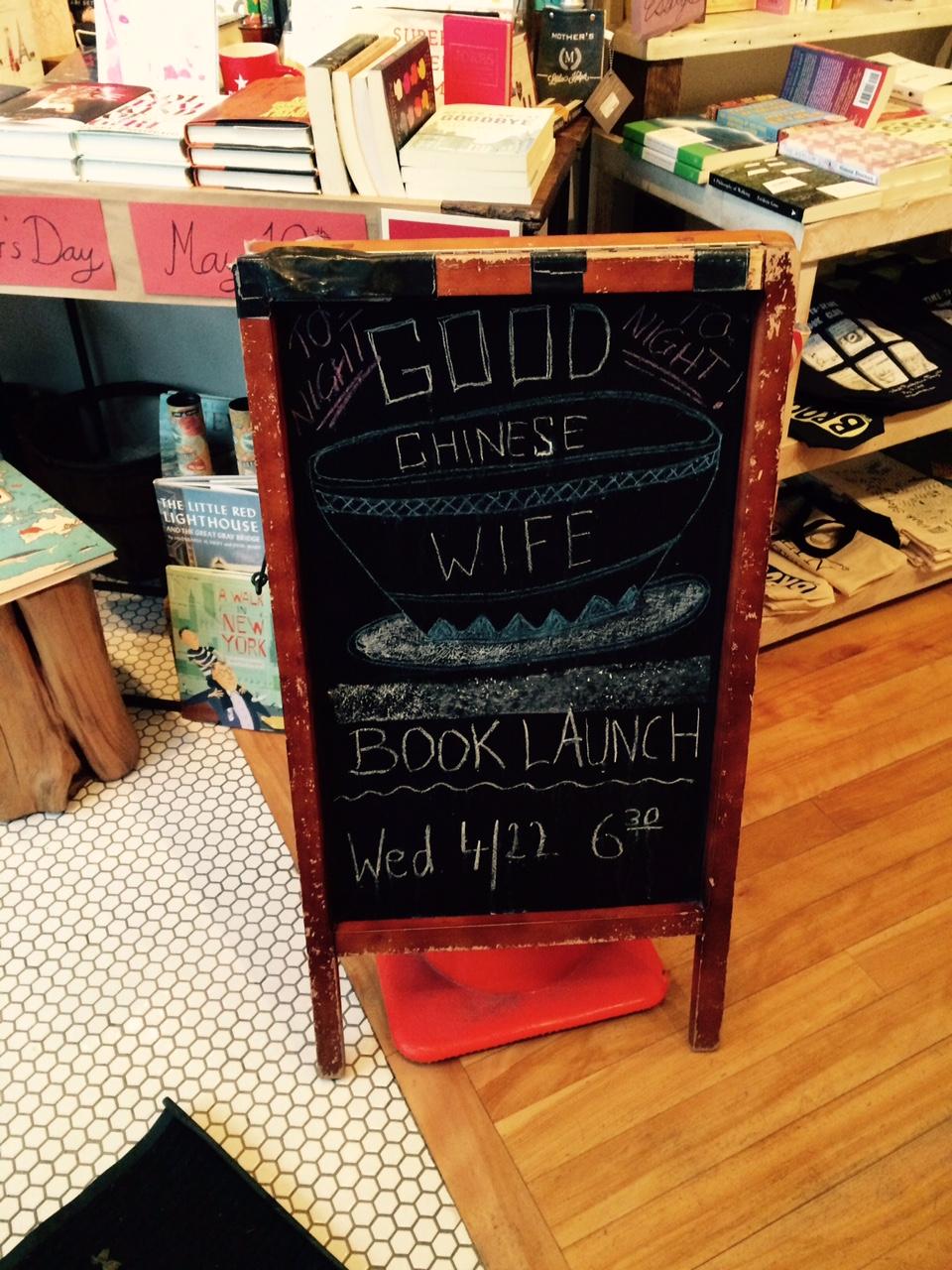 New York spring book tour