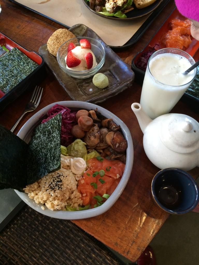 Teaism afternoon tea