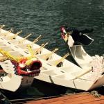 Dragon Boats Waiting