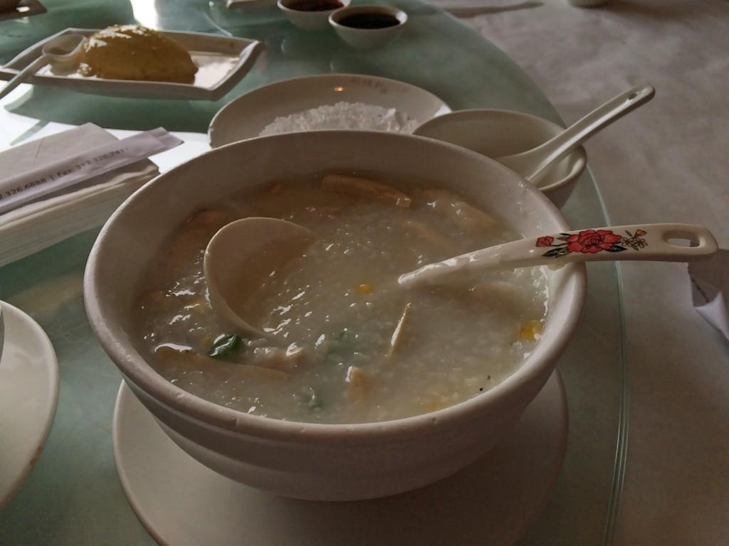 corn congee