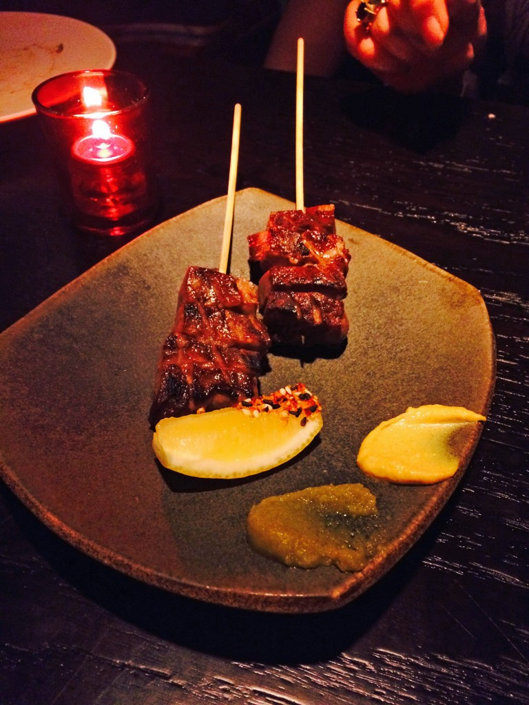 grilled wagyu beef tongue