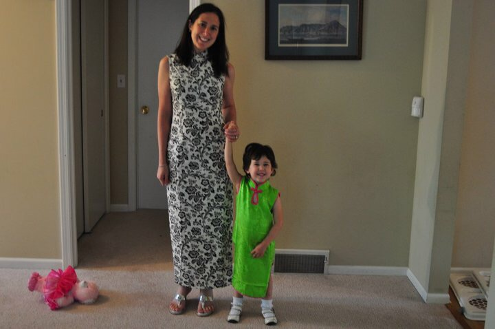 qipao with Rachel