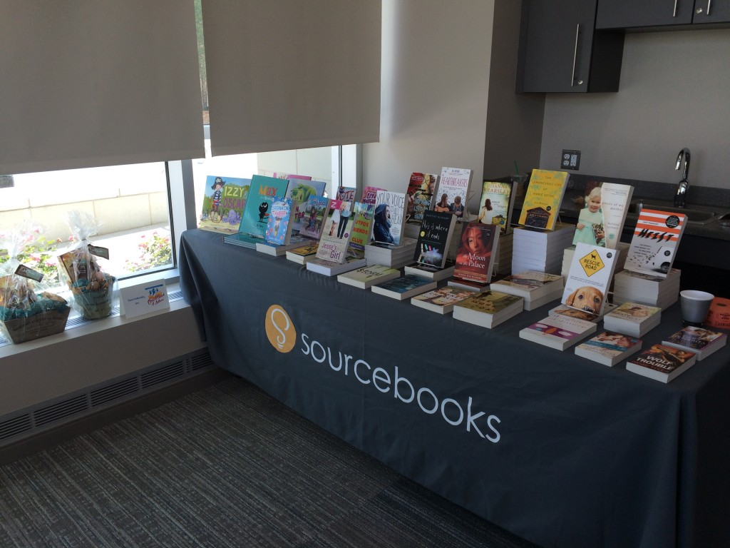 Sourcebooks table