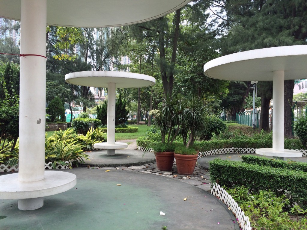 Park near old Kai Tak