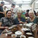 With Mom and Mary in Lin Heung