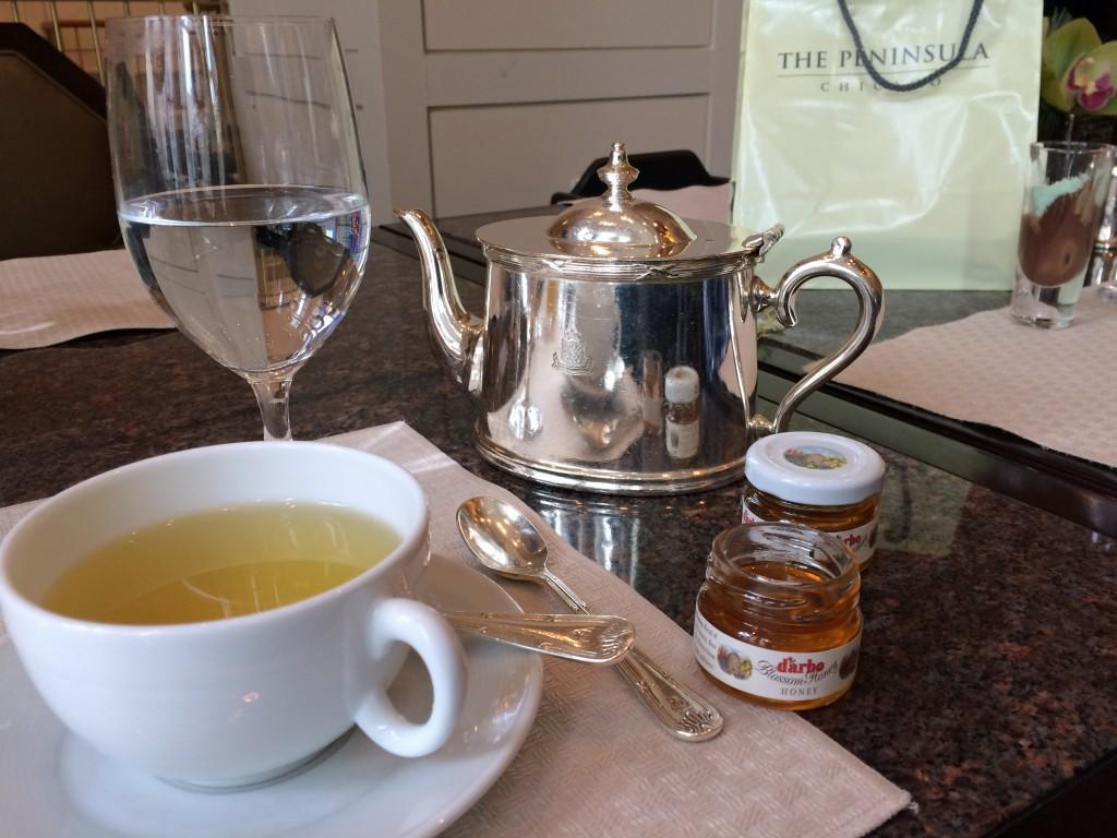Tea at the Pen