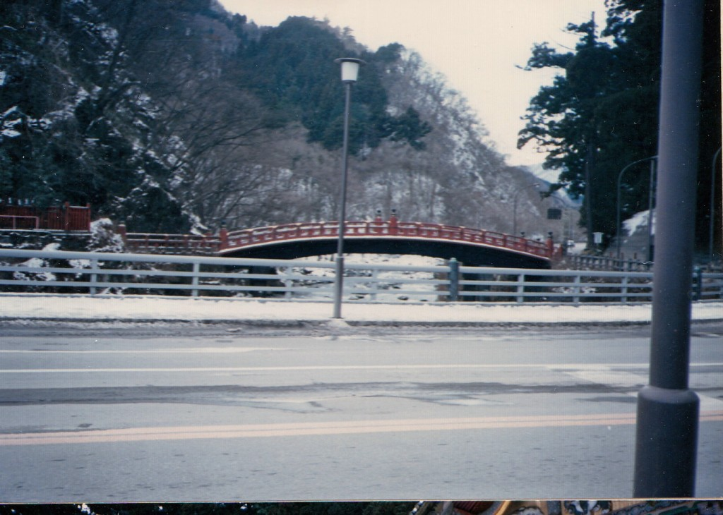 bridge in Nikko