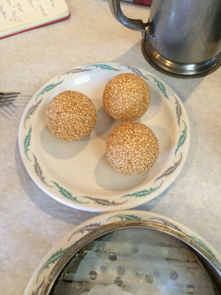 Won Kow sesame ball