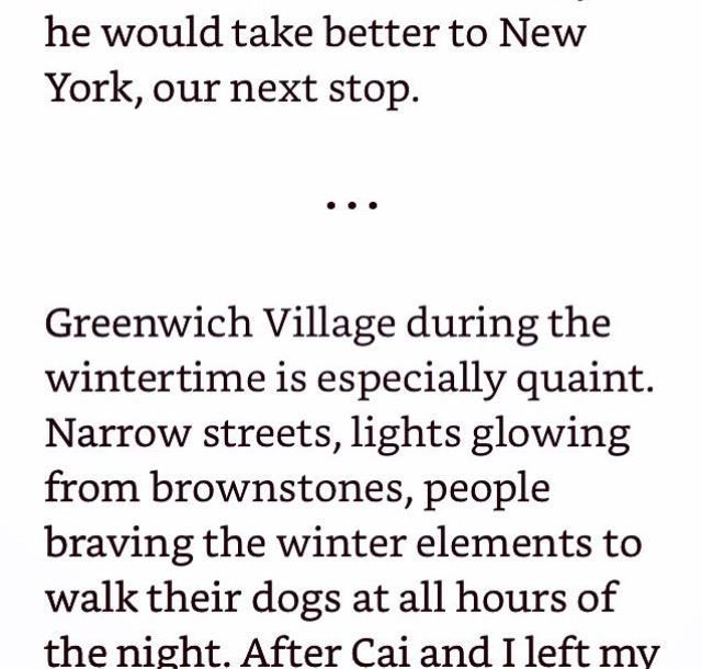 West Village excerpt