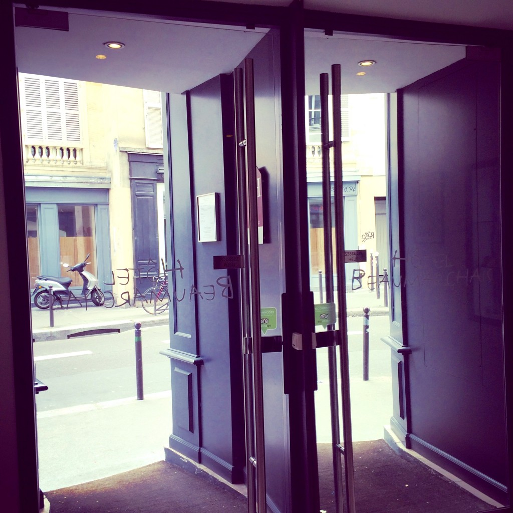 Beaumarchais front doors
