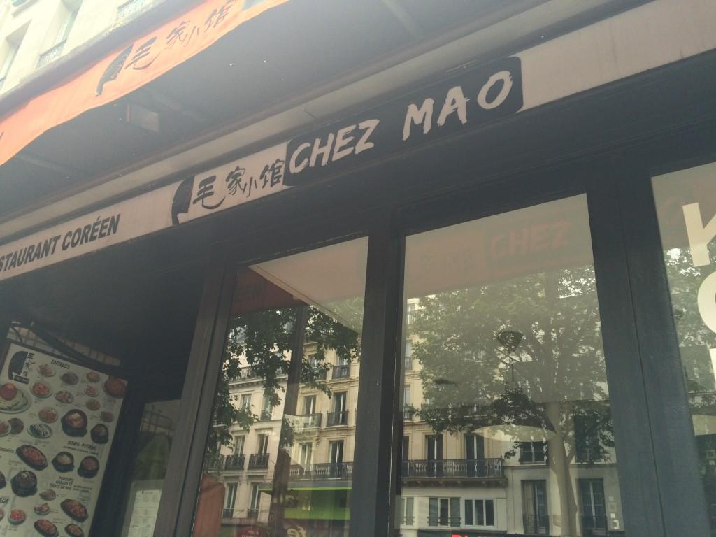 Chez Mao Paris