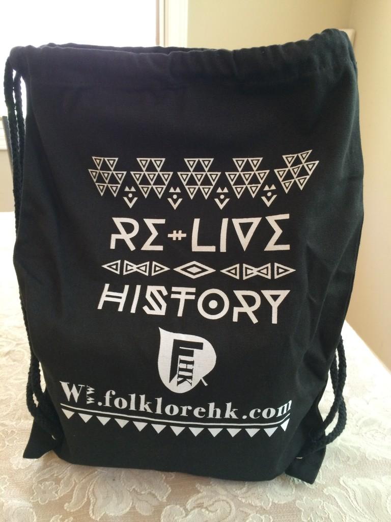 House of Folklore drawstring bag