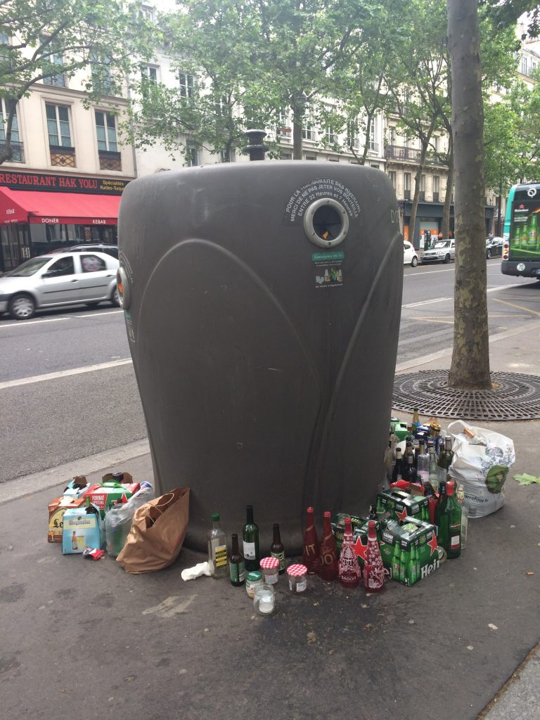 Paris recycling