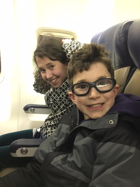 kids on the plane