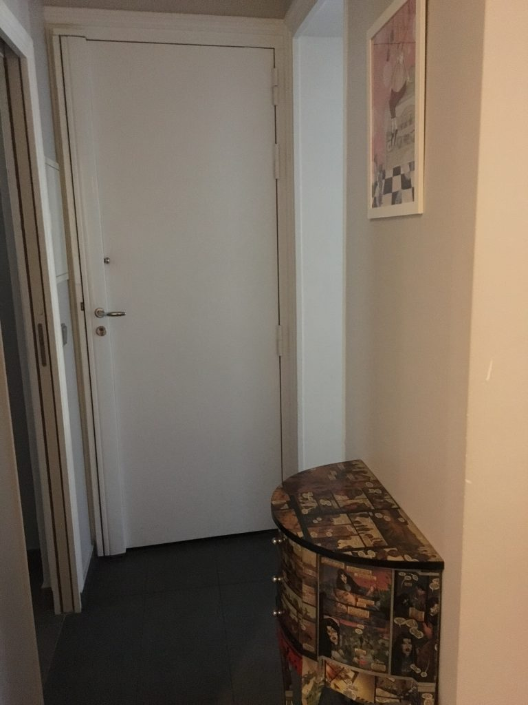 Inside Front Door Apartment In Further Down That Hallway The Kitchen Is Behind Me Paris Apartment Susan Blumbergkason