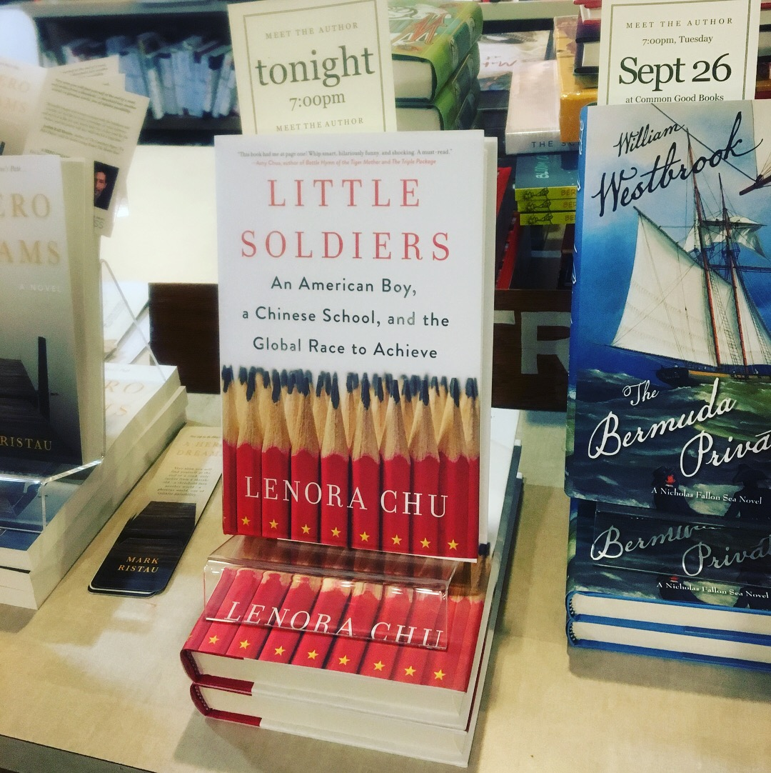 Book of week–Little Soldiers: An American Boy, a Chinese School, and the Global Race to Achieve