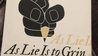Book of the week–As Lie is to Grin