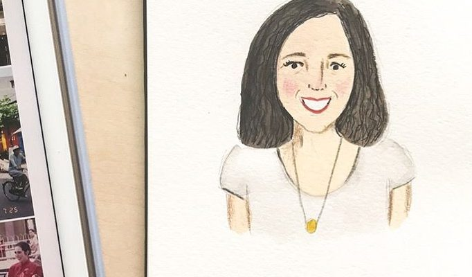 Sketch by Joanne Wong