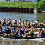 Dragonboat racing in Chicago