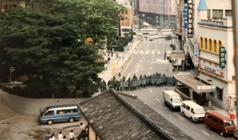Student protests in Seoul, 1987